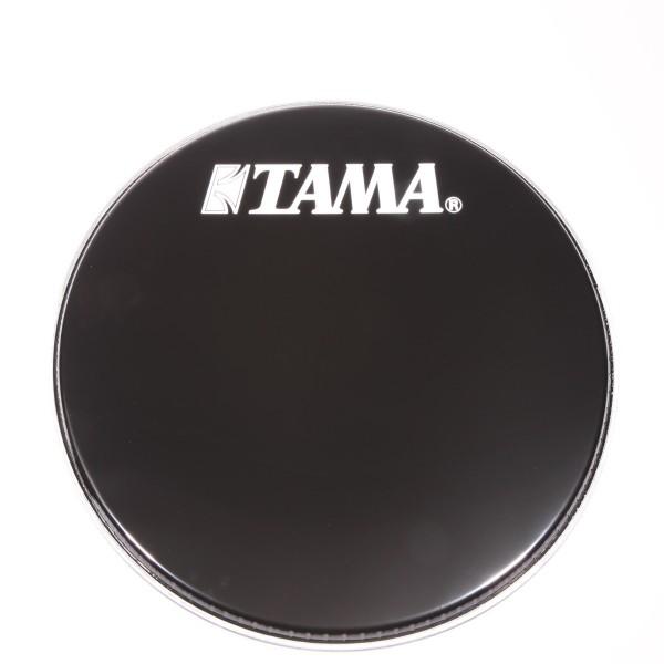 """TAMA 20"""" Resonanzfell mit weißem Tama Logo (BK20BMWS)"""