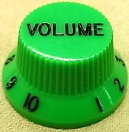 IBANEZ Plastic Volume Knob - green (4KB1MA0009)
