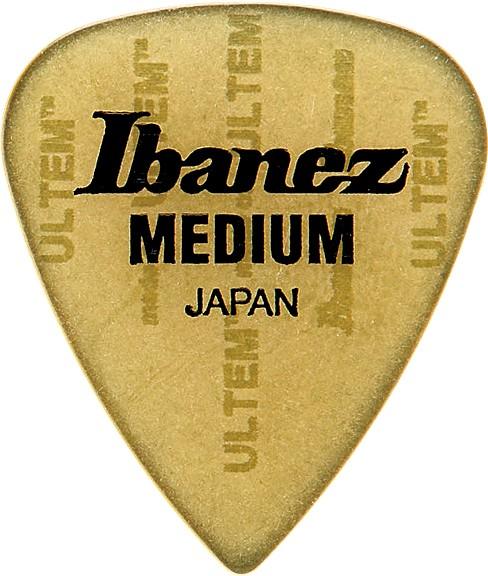 "IBANEZ Picks Teardrop Shape ""Prestige"" Ultem 0,75 mm Medium 3 pcs. (BUL17M)"