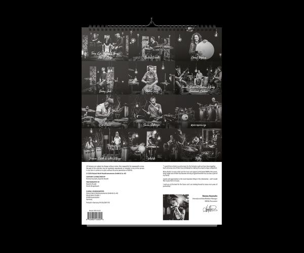 MEINL Percussion Studio Session - Kalender 2020 (PER-CAL20)