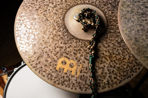 MEINL Cymbals Ajuch Bells Small - Brown & Turquoise (MABS)