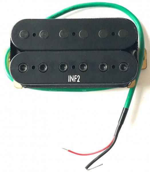 IBANEZ Bridge Pickup Infinity 2 4 Leads - black (3PU1PA0035)