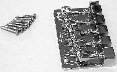 IBANEZ B105 Bridge 5-string in chrome for SRX305/SRX355 - für SRX305 / SRX355 Chrom (2BB1B105C)