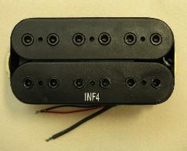 IBANEZ Bridge Pickup Infinity 4 - schwarz für BBM1/RG/XP (3PU1C3048)