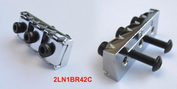 IBANEZ locking nut 42mm in chrom (2LN1BR42C)