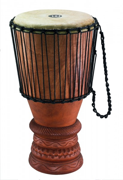 """MEINL Percussion African Bougarabou Djembe - brown 12"""" (ABGB-L)"""