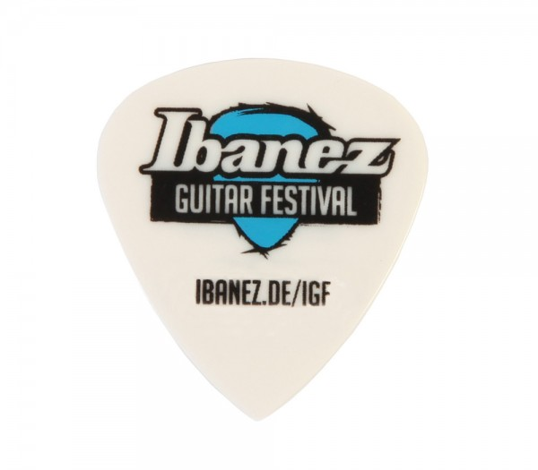 IBANEZ Grip Wizard Guitar Festival Picks - Limited Edition 6 Stück - Heavy (BCE16HSF13-WH)