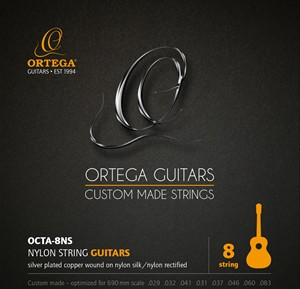 ORTEGA Single String - Nylon Silver- plated Copper Wound - Single String 031 (OCTA-8D4)