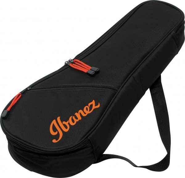 IBANEZ Ukulele Bag - Black for Soprano Ukulele (IUBS301-BK)