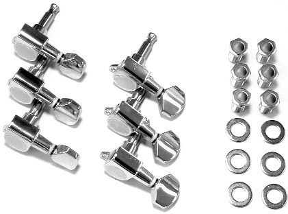 IBANEZ die-cast machine head set in chrome - for selected X/SA series models (2MH1WG2L6C)