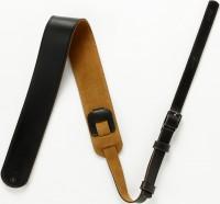IBANEZ leather strap w/Buckle - Black (GSLZ60-BK)