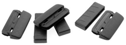 HARDCASE Gurtenden aus Plastik für 30mm Bänder (P1118)