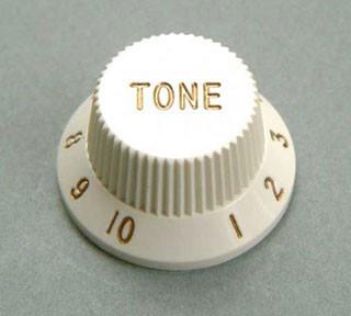 IBANEZ tone control knob - white for AT100CL/JEM505/JEM7V7/JEM7V (4KB1JF2W)