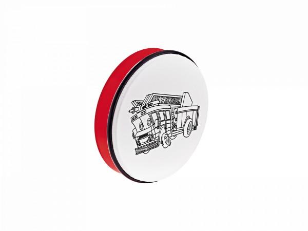 NINO Percussion Customizable ABS Hand Drum - Fire Truck (NINO5FT)