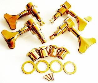 IBANEZ Mechanikensatz Die-Cast - 4er Satz für ICB08LTD gold (2MH27C0004)