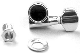 IBANEZ Mechanikenset Die-Cast - IC200 / IC400 / NDM2 / NDM3 chrom (2MH1CG533C)
