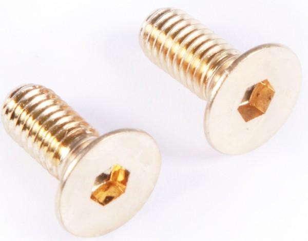 MEINL Percussion - Innensechskantschrauben 2er Set für Höhenverst. Steely-Ständer gold (STAND-28)