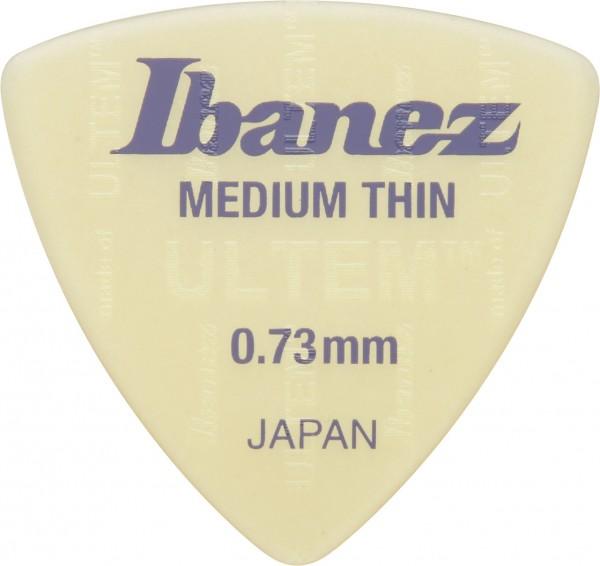 IBANEZ Ultem Flat Thin Pick 0,73mm - 3 Stück (BUL8MT073)