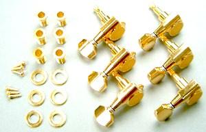 IBANEZ Machinehead set SG381 - JEM7VL gold left (MB500LG)