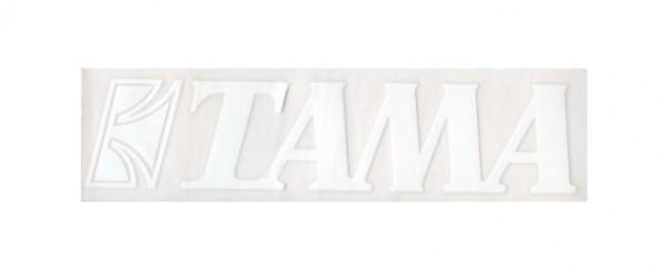 Tama sticker white - 24,5 cm x 7 cm (TLS100WH)