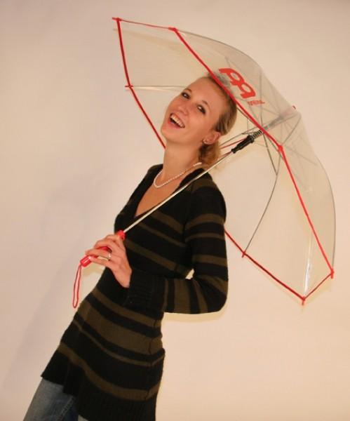 MEINL Regenschirm durchsichtig mit Meinl Logo (MRS)