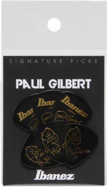 IBANEZ Picks Signature Series - Paul Gilbert - 6 Stück schwarz 1,0mm Heavy (B1000PG-BK)