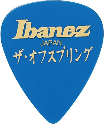 IBANEZ Signature Picks The Offspring Heavy 1,0mm - 6 pcs. (BOS-BL)