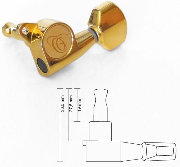 ORTEGA Mechanik - gold G, B, E u.a. passend für RLIZARD-CC/RLIZARD-SO/RLIZARD-TE (OER-20160)
