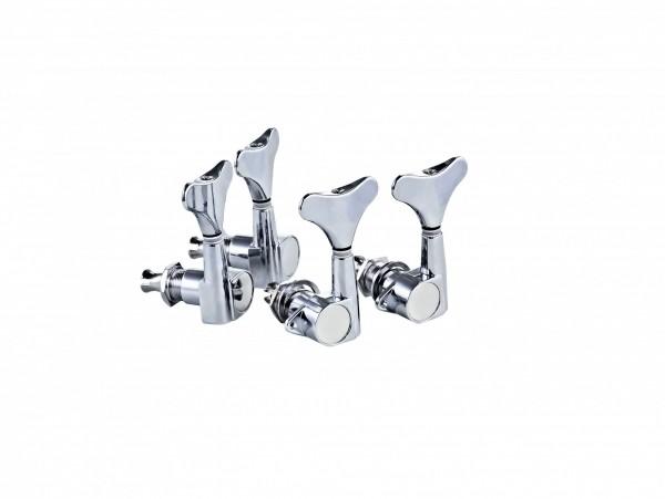 ORTEGA Akustik/Elektrik Bassmechaniken-Set Standard, Die-Cast, 2+2 - Chrom (OTMEB22-CR)