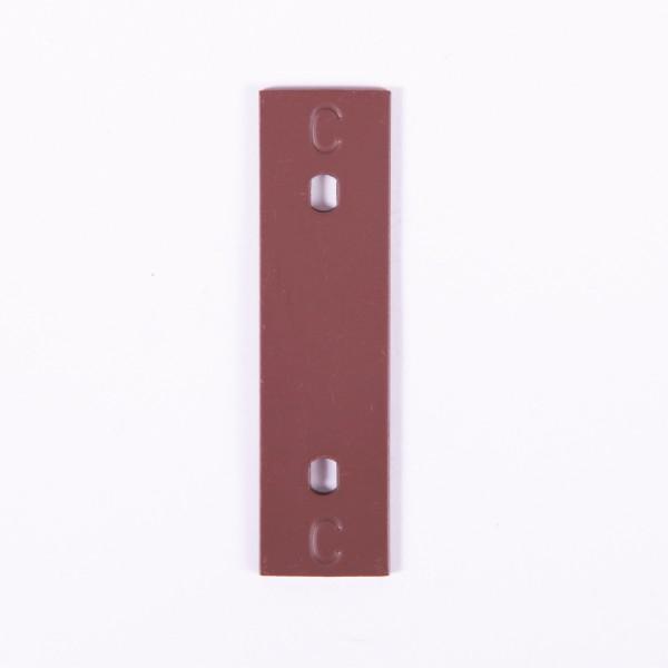 "Nino Klangplatte ""C4"" in braun für NINO902 Glockenspiel (NI-SPARE-20)"