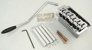 IBANEZ Tremolo Standard 6 Pivots - chrom für GRX 20/70/GSA 60 (2ST1C16C)