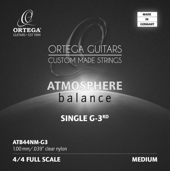 ORTEGA Atmosphere Balance Series String - Medium Tension Clear Nylon 0.39 (ATB44NM-G3)