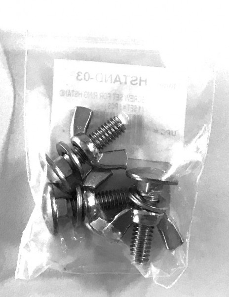 MEINL Percussion - screw set 3pcs for HSTAND (HSTAND-03)