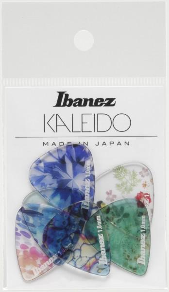 IBANEZ KALEIDO Series Picks - Copolyester Material Heavy/ 6 pcs Set (PCP14H-C1)