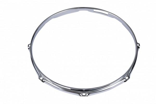 "TAMA 2.3mm Steel Mighty Hoop 14"" 8-Loch - Chrom Snare Side (MFM14S-8)"
