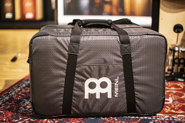 MEINL Percussion Professional Cajon Bag mit Schultergurt und Tragegriff - Carbon Grey (MCJB-CG)
