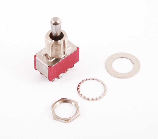 IBANEZ Pickup selector 3-way toggle switch (Chrome washer and nut) - for MBM2, S920E, SZR520 (3SW12A0002)