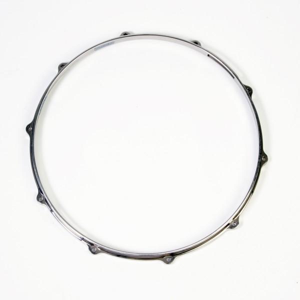 """TAMA Die-Cast Hoop 14"""" 6-Hole - Hairline Snareside (MDH14S-10H)"""