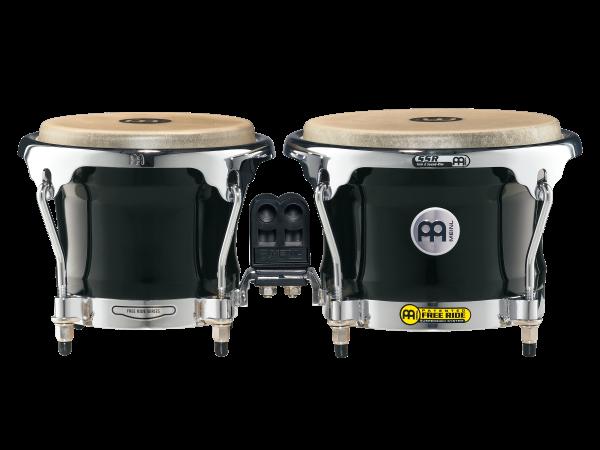 MEINL Percussion Free Ride Wood Bongo (FWB400EBK)