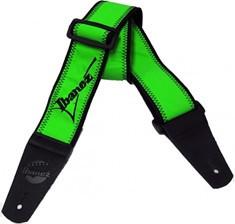 IBANEZ Gitarrengurt - grün 1500 mm lang 60 mm breit (GS601F-GR)