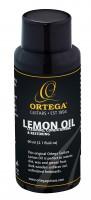 ORTEGA Zitronenöl für Reinigung/Pflege - 60ml / 2.1 FL OZ (OLEM)