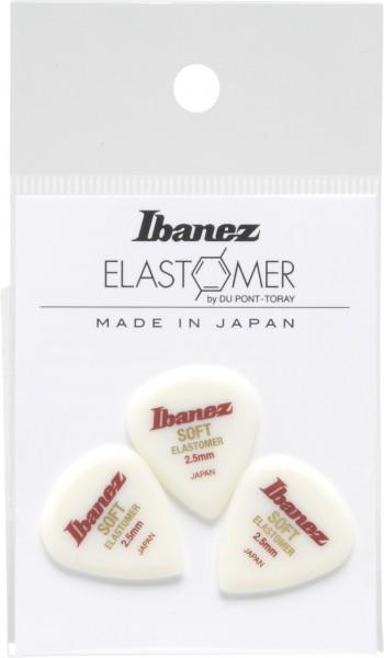 IBANEZ Elastomer Picks 3 pcs Set - Soft (BELJ1ST25)