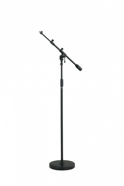 TAMA Iron Works Studio Series Round Base Telescoping Boom Microphone Stand (MS736RBK)