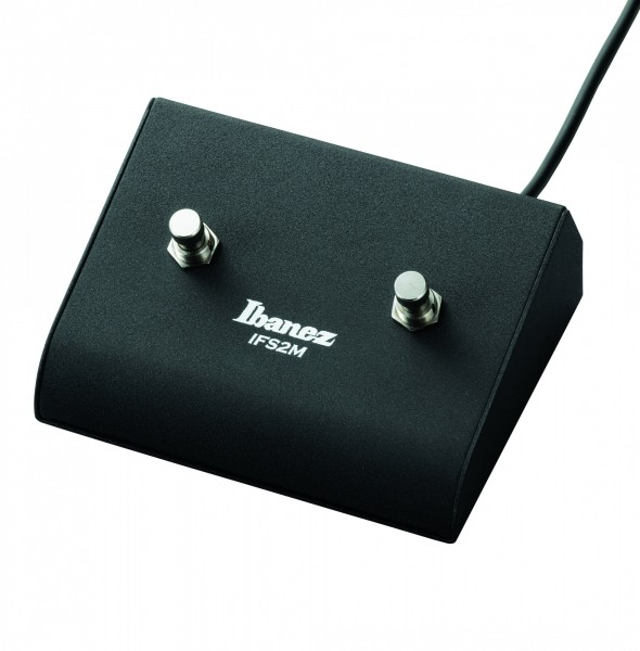 IBANEZ IFS2M 2 button footswitch - for MIMX amplifiers (IFS2M)