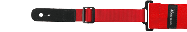Ibanez Guitarstrap Powerpad GFS50s Short Version - Red (GSF50S-RD)