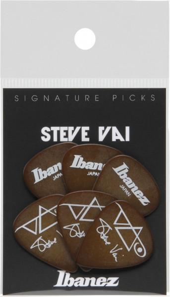 IBANEZ Picks Signature Series - Steve Vai - 6 pcs. brown 1,0mm Heavy (B1000SV-BR)
