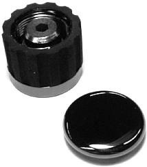 IBANEZ Potiknopf - cosmo black für RG/RGA/S/SV Serie (4KBX5A0001)