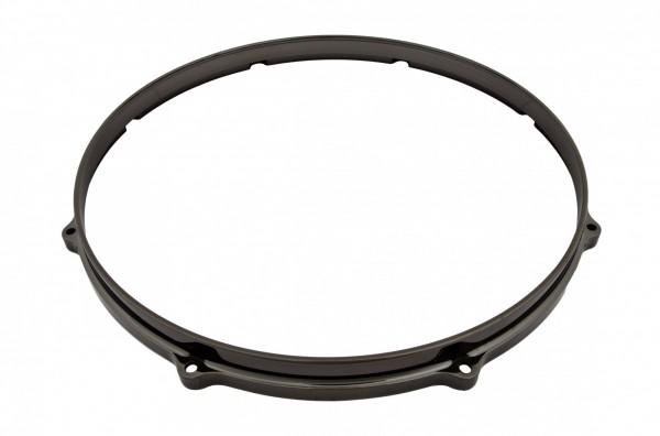 """TAMA Die-Cast Hoop 14"""" 8-Loch - Smoked Black Nickel Batter Side (MDH14-8FU)"""