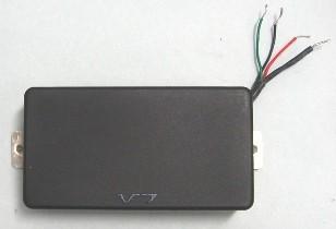 IBANEZ V7 Neck Pickup 4 leads type - schwarz für RG/RGR/Signature Modelle (3PU1V7B4C)