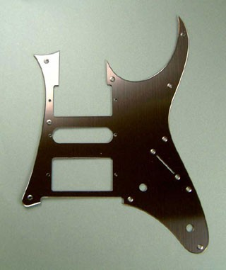 IBANEZ pickguard - hairline brown mirror for RG2550E-GK (2004/11-2007/10) (4PG00A0011)